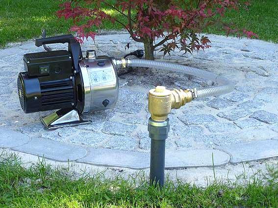 Garten Brunnen Grundwasser
